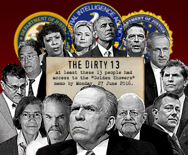 Image result for Hillary Clinton, James Comey, Loretta Lynch, John Brennan, and James Clapper